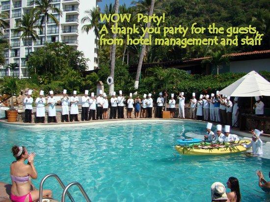 Hyatt Ziva Puerto Vallarta: WOW Party!
