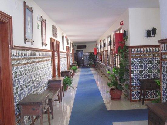 Balneario San Nicolas Hotel: Corredor de la primera planta
