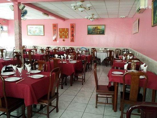 Ocean Restaurant : Inside