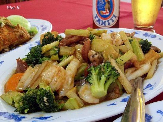 Ocean Restaurant : Tofu and Veggie Stir-Fry