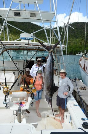 Marigot Palms Luxury Caribbean Guesthouse and Apartments: deep sea fishing