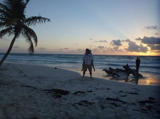 Suenos Tulum : my beautiful wife and i renewing our vows