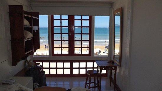 Chez Pitu Praia Hotel: Vista desde la habitacion