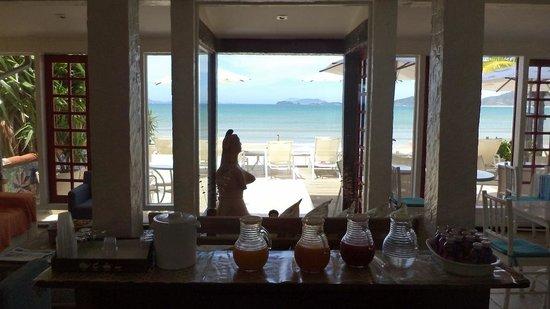 Chez Pitu Praia Hotel: Vista desde el comedor