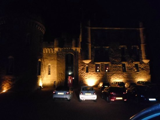 Dalhousie Castle: Dalhouise Castle by night