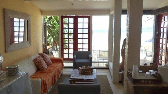 Chez Pitu Praia Hotel: Area de descanso