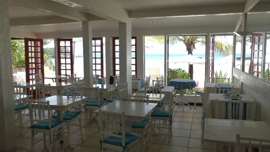 Chez Pitu Praia Hotel: El comedor