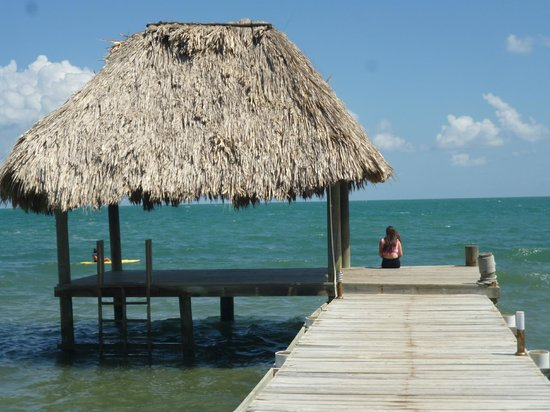 Jaguar Reef Lodge & Spa: Dock