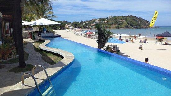 Chez Pitu Praia Hotel: La pileta