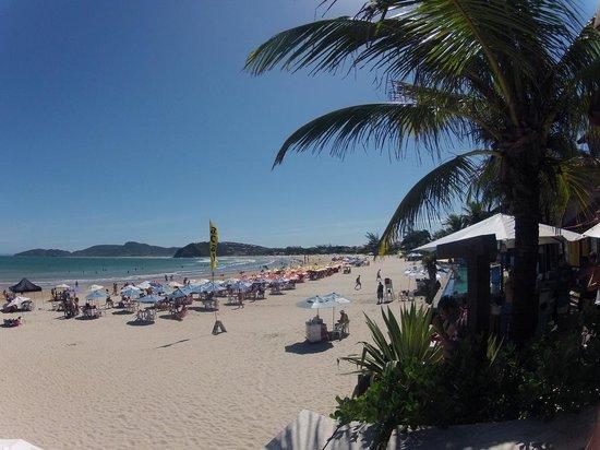 Chez Pitu Praia Hotel: Vista de la playa desde el hotel