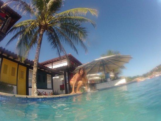 Chez Pitu Praia Hotel: Desde la pileta