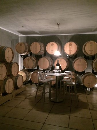 Ram's Gate Winery: cellar