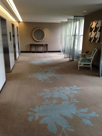 The Nines, a Luxury Collection Hotel, Portland : elevator area