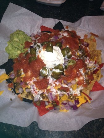 Bombdigity: Beef nachos