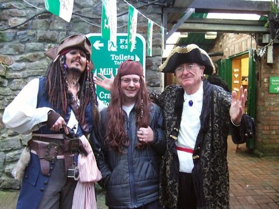 Gower Heritage Centre : new It volunteer & Jack Sparrow