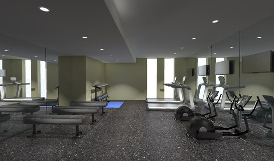 The Parc Hotel: Stay on Track in our Fitness Room