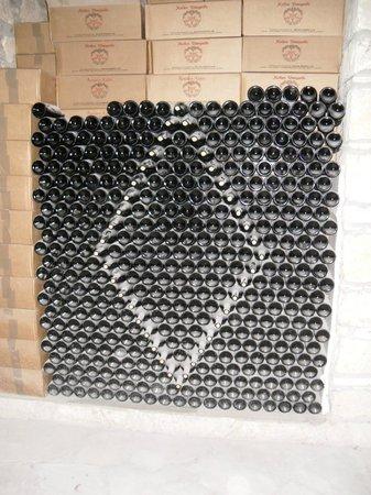 Kolios Winery: A bottle design in the wine cellar
