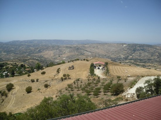 Kolios Winery : A view from the restaurant