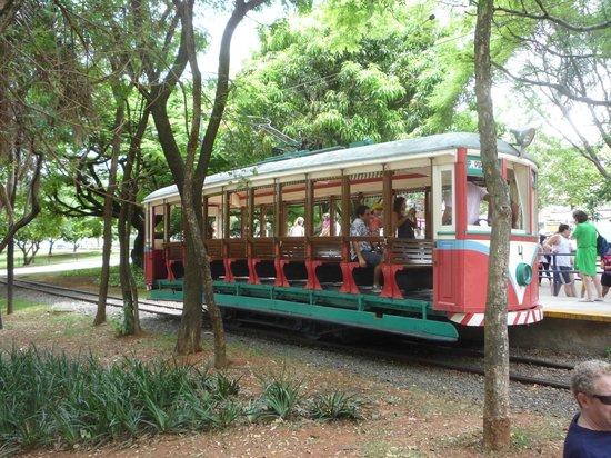 Campinas, SP: Tranvia del parque