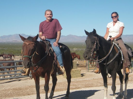 Stagecoach Trails Guest Ranch: Wonderful horseback ride!