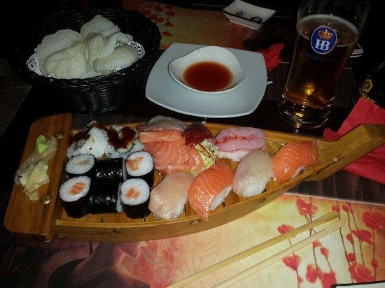 Chan Sushi Bar: Prelibatezze