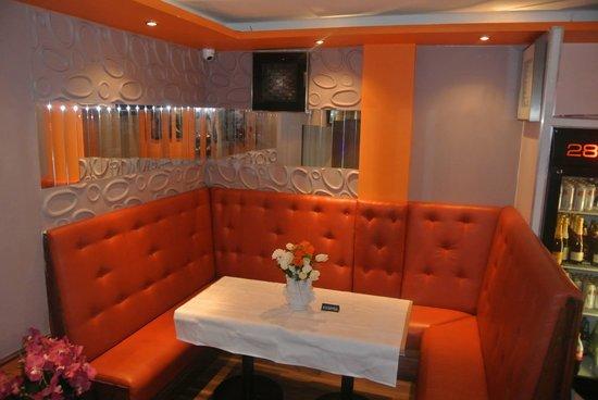 280 Degrees African Restaurant & Bar: VIP lounge