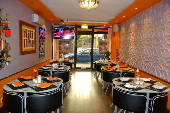 Main Restaurant Picture Of 280 Degrees African