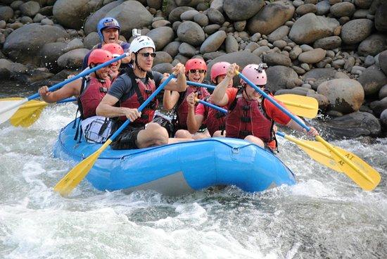Aguas Bravas Rafting Company: Full speed ahead