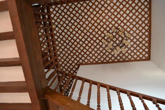 Hospedaria Abrigo de Botelho: scalinata