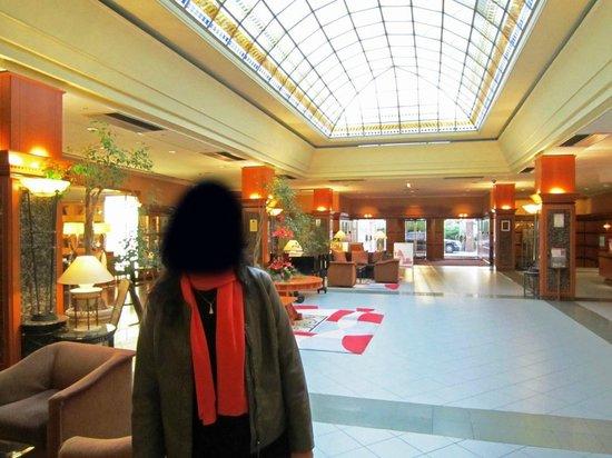 The Aquincum Hotel Budapest: Hall de entrada