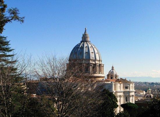 Vatican Gardens: St Peters