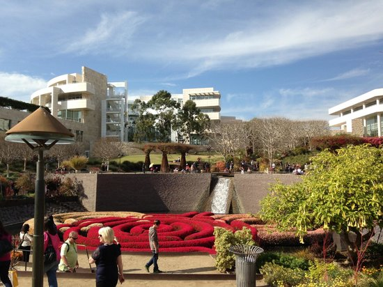 Hotel Angeleno: Easy to get to the gorgeous Getty Center from the hotel