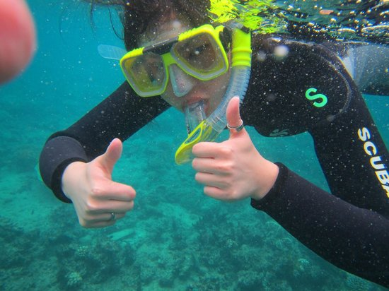 Reef Experience : Thumbs up