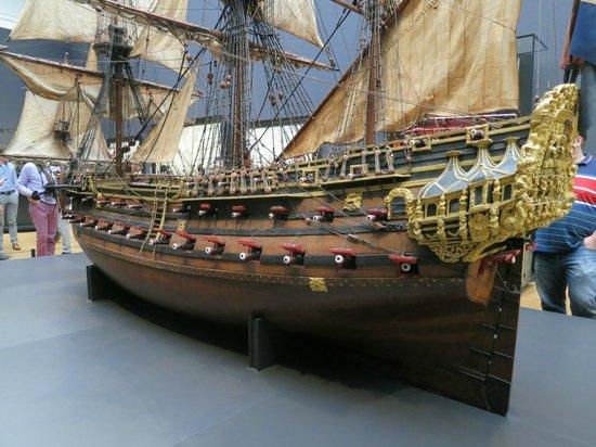 Rijksmuseum Amsterdam: Model Ship.
