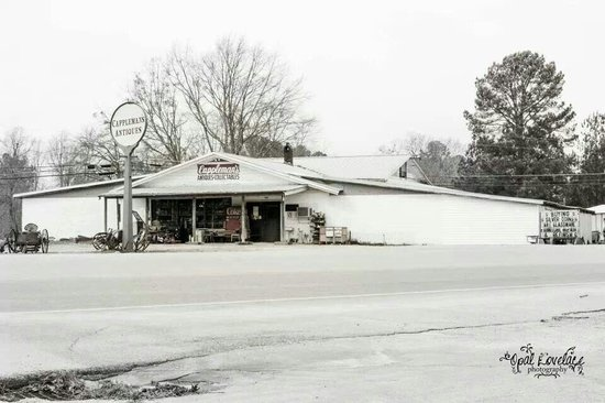 Cappleman's Antiques: Picture of the store, taken by a good friend, Opal Lovelace when we were closed.