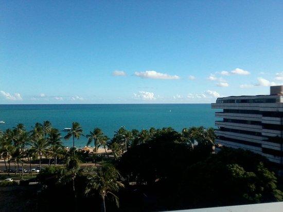 Tambaqui Praia: visão linda do hotel !!