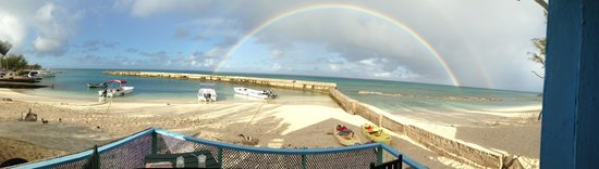 The Villas of Salt Cay : Rainbow breakfast at Coral Reef