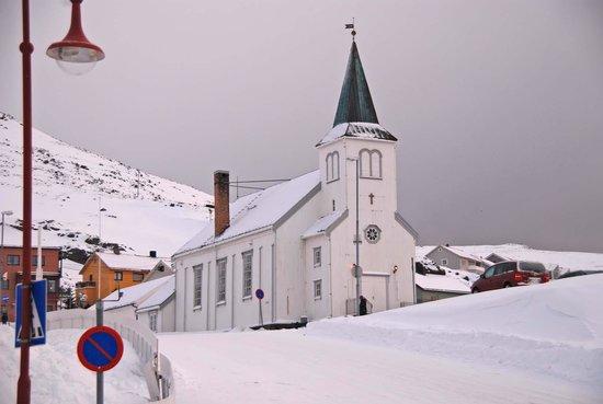 Honningsvag Church: church