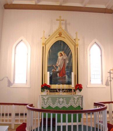 Honningsvag Church: Altar