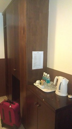 Geo Hotel Kuala Lumpur: coffee/tea making facilities