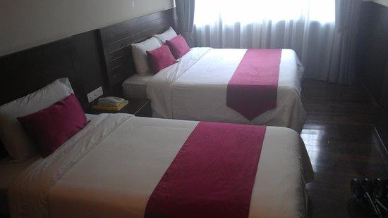 Geo Hotel Kuala Lumpur: family room beds