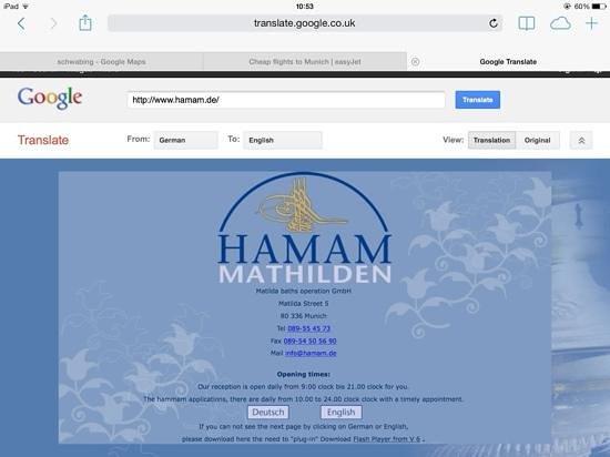 Hotel Laimer Hof : Hamam