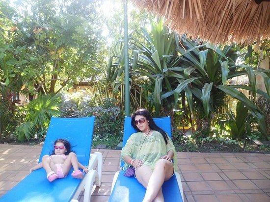 Barceló Montelimar: relajandome con mi princesa