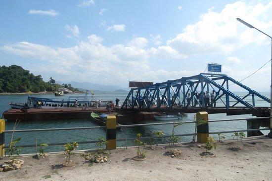 Kawthoung port: Main pier