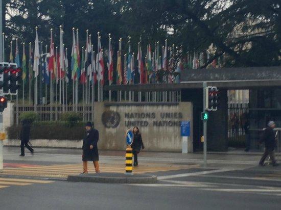 UNOG - Palais des Nations : Sede da ONU em Genebra