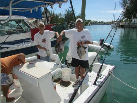 Ocean Reef Yacht Club & Resort: Fishing with Les