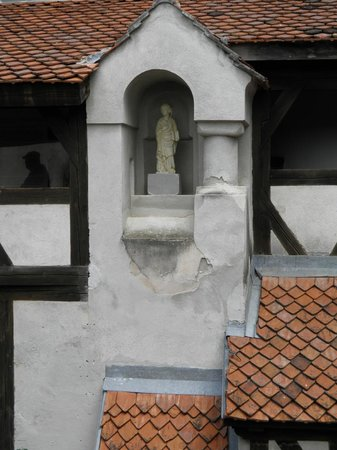 Château de Bran : Ниша с изваянием Богоматери