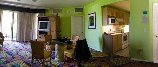 Kona Coast Resort: Dining area