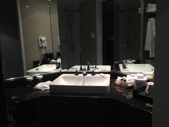 Hotel Manoir Victoria : Modern Sink