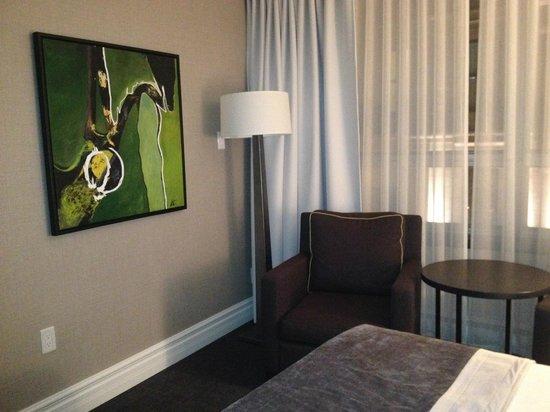 Hotel Manoir Victoria : Sitting Area
